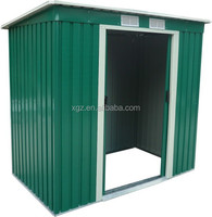 Nice design steel frame garden shed for hot sale