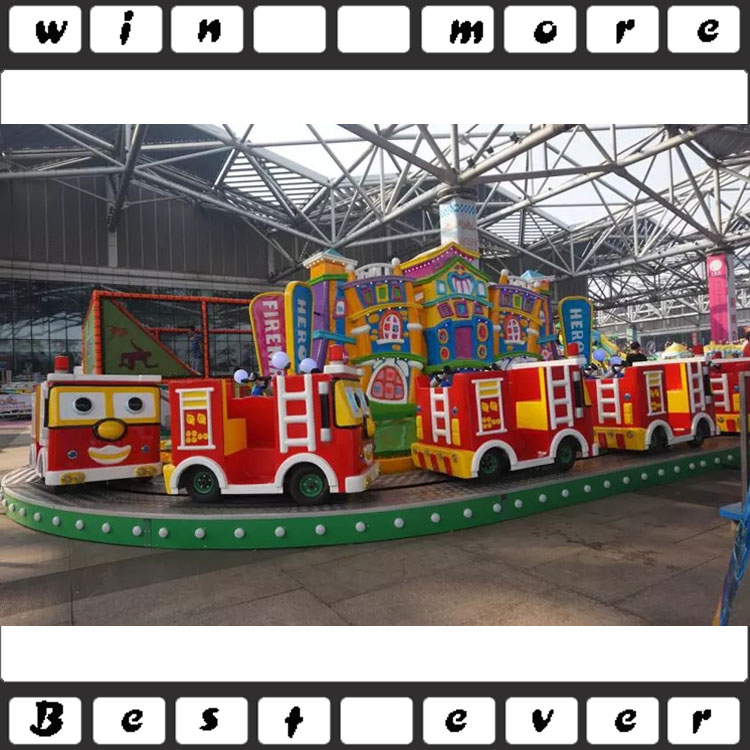 factory price kiddie rides small roller coaster fire engines for sale