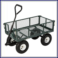 Easily Transport Garden Folding Meshed Utility