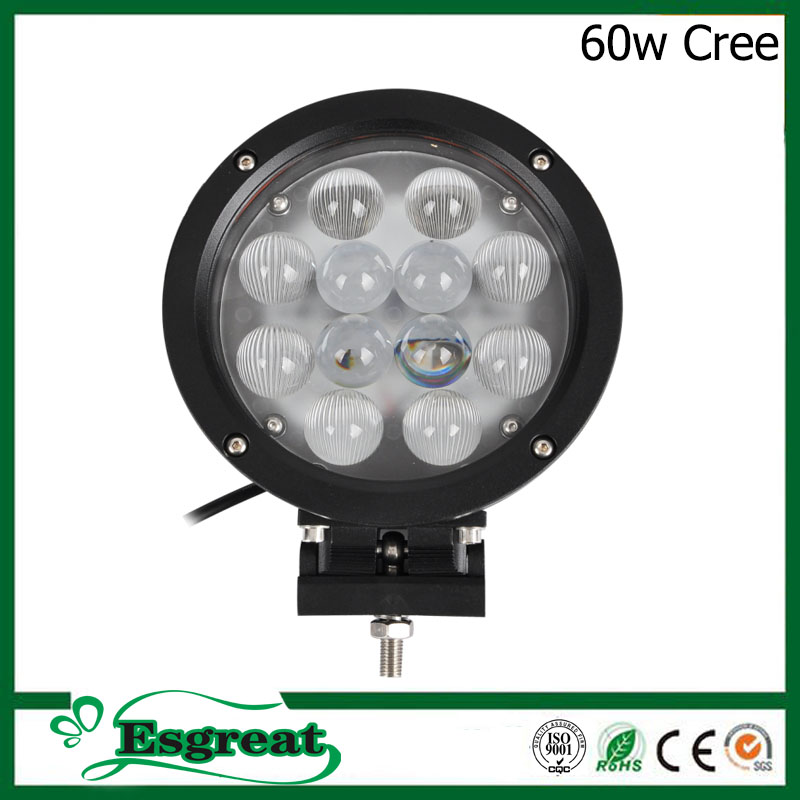 Super Bright UsCree 45w 60w 6'' 4x4 Driving Led Work Lights Lamp With Waterproof IP68