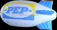commercial advertising promotion inflatable sky helium airship ,blimp balloon