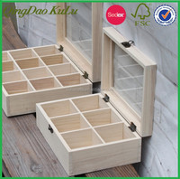 eco friendly factory price cheap unfinished,wooden gift box for sale-only for sample payment