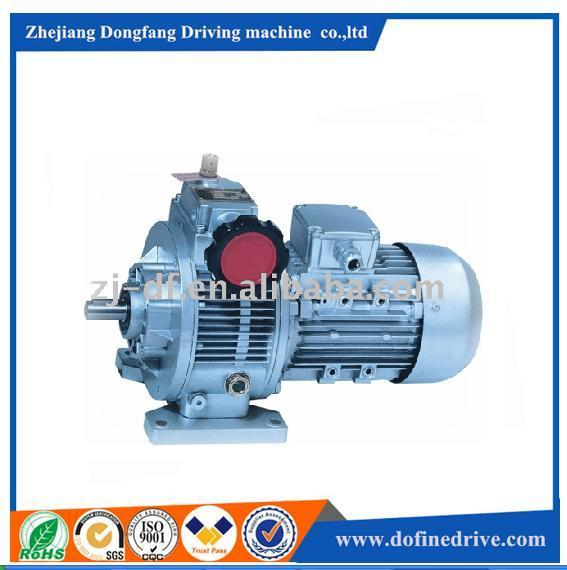 DOFINE MB combination reduction power gear box variable electric motors