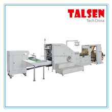 Tissue Paper Bag Making Machine/Shopping Paper Bag Machine/Square Bottom Kraft Paper Bag Machine Supplier