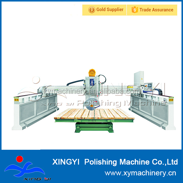 automatic laser bridge tile saw wet for granite and marble slab