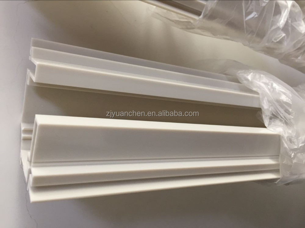 customized PVC profiles plastic extrusion dies for refrigeration equipment