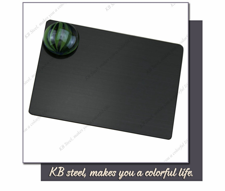 Alibaba website 18 8 aisi 4340 black color stainless steel sheet properties
