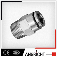 Threaded copper male plug fittings copper straight male tube fittings