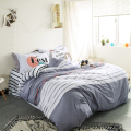 Hot new products 100 cotton bed sheet set