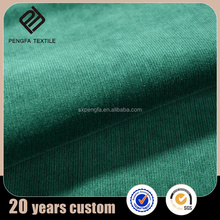 custom design wholesale green cotton canvas fabric in germany for tshirt