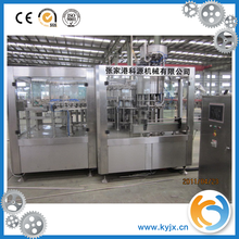 Zhangjiagang beverage machinery soft drink filling bottling equipment machine with factory price