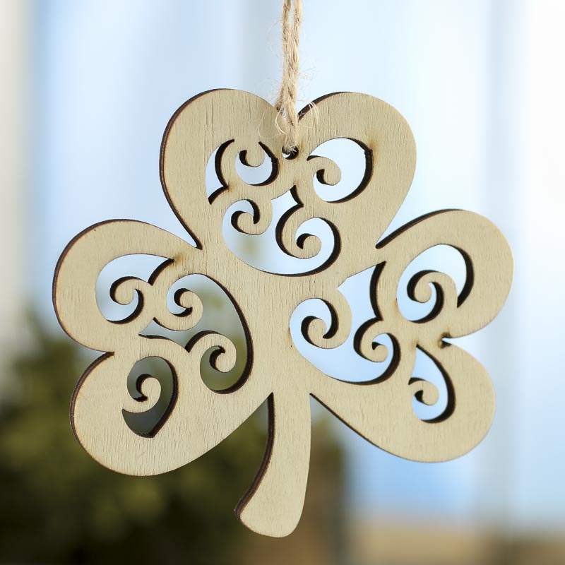laser cut wood ornament for Christamas Decoration