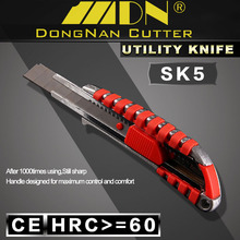 High Quality Heavy Duty Tool Custom BladeMetal Handle 18mm Stainless Steel Cutter Knife
