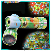 Promotion gift high quality metal kaleidoscope toy for kids
