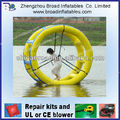 2013 hot selling colorful inflatable wheel toy for playing on water for kids or adults