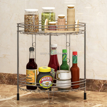 Top Quality Factory Price Stainless Steel Kitchen Storage Rack Bathroom Wire Rack
