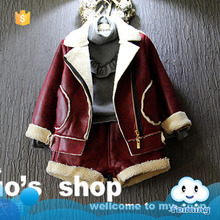 Winter & autumn wear kids cool fancy clothing set children's wear korean fashion design kids bodysuit