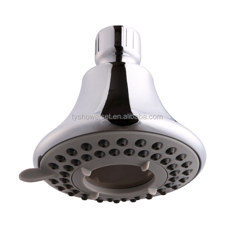 High pressure rainfall small overhead shower head hotel shower head
