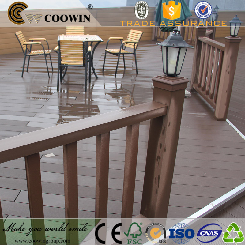 COOWIN supplier road composite decking boards for sale