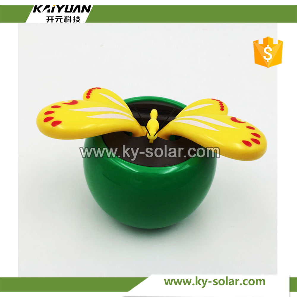 New sunpower amorphous silicon solar powered dancing flower