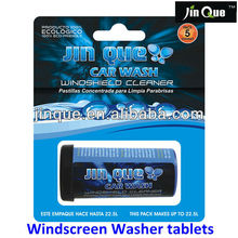 windscreen washer tablets