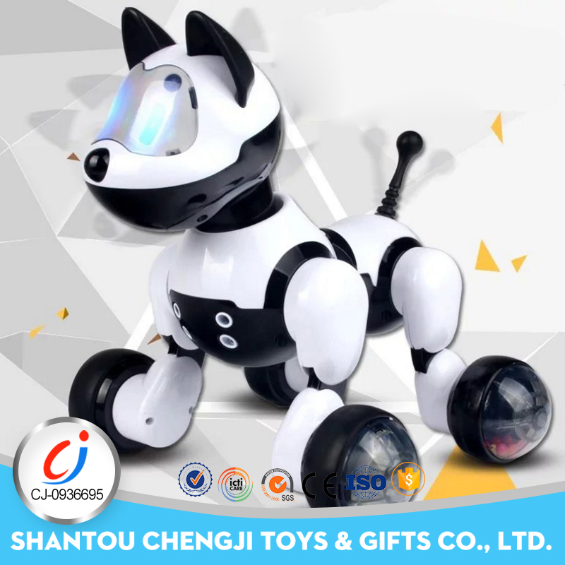 Hot sale professional intelligent electronic voice command robot dog