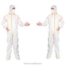 disposable Type 5 6 CE Standard Breathable Microporous Coverall