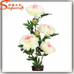 Peony Silk Flower colors Artificial Flower Factory Artificial Flowers Imported From China