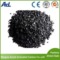 Odor absorber removal crushed activated carbon charcoal crushed