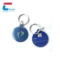 Crystal epoxy shaped RFID cards 13.56 mhz NFC pet tags
