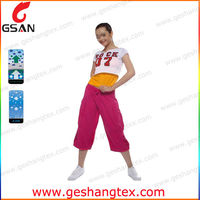 high quality leisure cargo pants for women long trouser