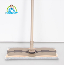 Boomjoy Hot selling Cleaning Telescopic Handle Professional microfiber flat mop