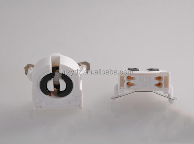 white pcb G13 / T8 fluorescent lamp holder socket