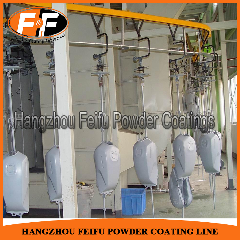 Motorcycle Parts Fluidized Bed Powder Coating Machine