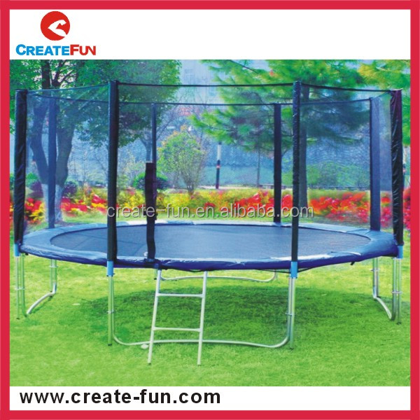 CreateFun 10ft Round Used trampoline for sale