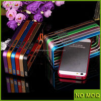 0.7mm slim thin metal bumper case for iphone 5 5s