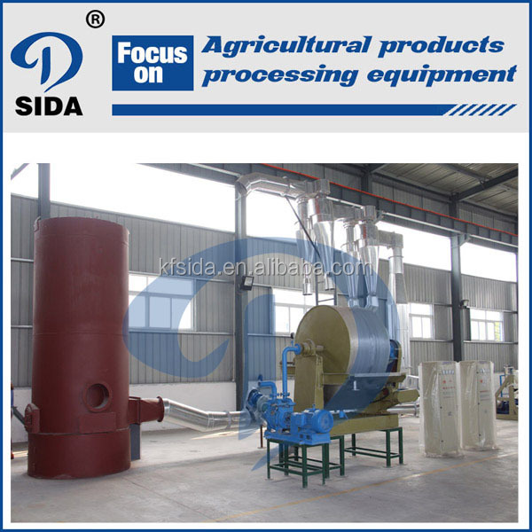Automatic Cassava Starch processing Plant & starch processing unit