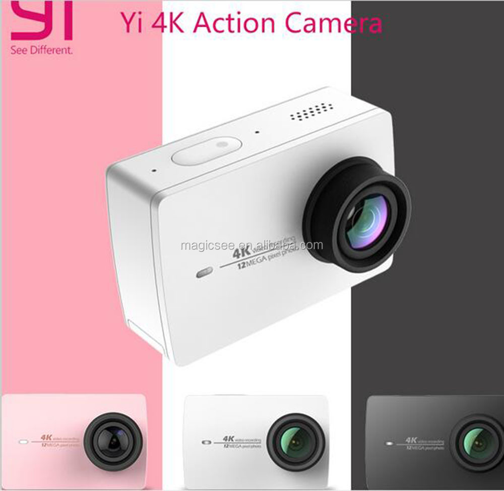 "Xiaomi YI 4K Action Camera 2 Ambarella A9SE Xiaoyi Sports Camera II 2.19"" 155 Degree 12.0MP CMOS EIS LDC"