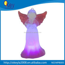 Mini LED color changing plastic Angel