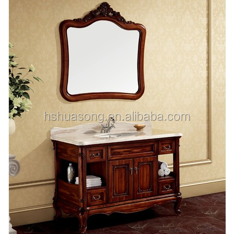 New Design hospital antique cabinet wash basin