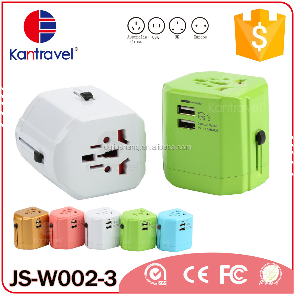W002 Colorful high quality mini usb travel power adapter,usb wifi adaptor android