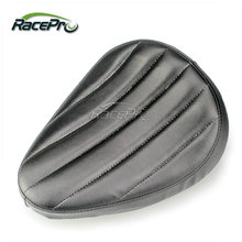 Wave type Two Size Synthetic Leather Motorcycle Solo Seat For Harley Chopper Custom Bobber