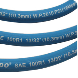 SAE High Pressure Oil Resistant Hydraulic Hose Pipe 10MM R1