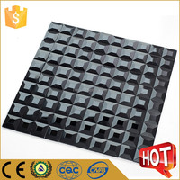 Elegant design mosaic glass tile beveled glass mirror mosaic tile