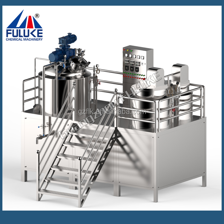 FLK CE lotion cosmetic manufacturing equipment supplies