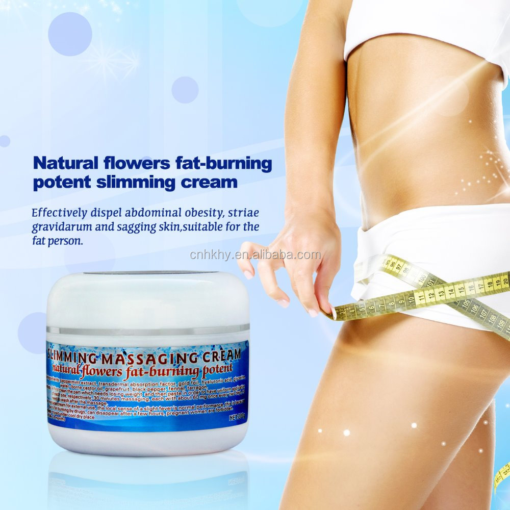 Body Weight Loss Natural Flowers Fat-burning Potent Slimming Cream