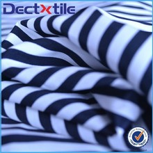 China Supplier Woven Black And White Striped Polyester Fabric Is Coming