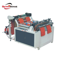 HDPE LDPE PE Biodegradable Cloth Patch Carry paper Polythene Garbage T-Shirt Shopping Plastic Bag Making Machine Price
