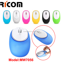 silicone gel mouse,Crush resistance 2.4 GHz Optical USB Gel Wireless Mouse with mini Receiver MW8040