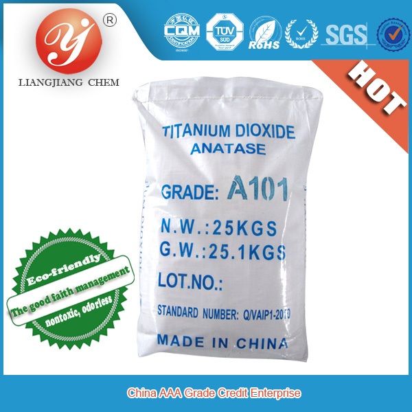 hot sale titanium dioxide anatase grade TiO2 A101,food grade titanium dioxide, TiO2 for paint, ink, plastic